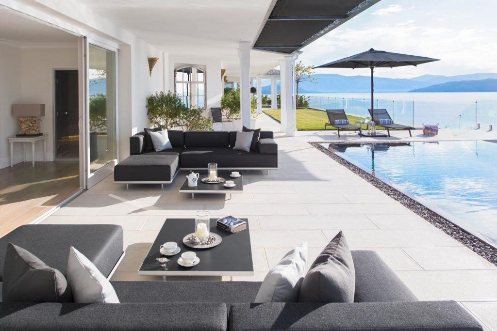 ultima villa corfu outdoor livingroom ivy villas 01