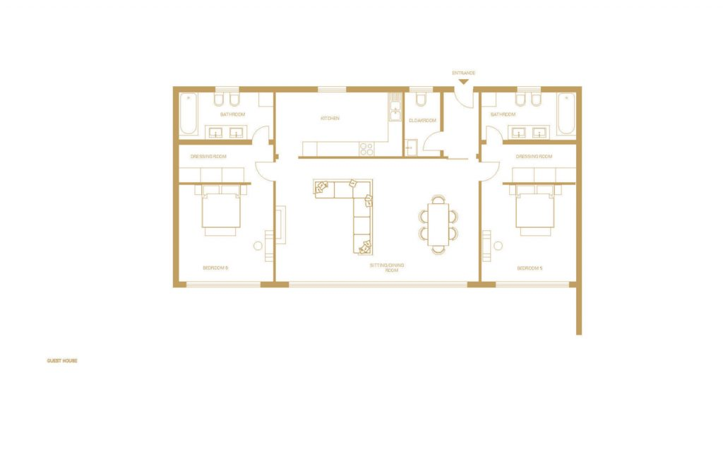 villa ultima corfu floor plans guest house