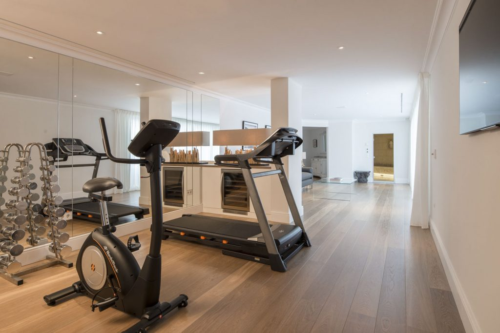 villa ultima corfu ivy villas interior gym 01