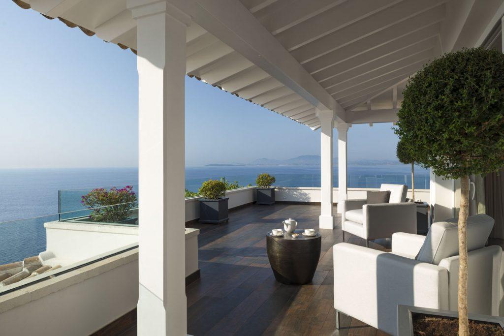 villa ultima corfu ivy villas relaxing veranda 01